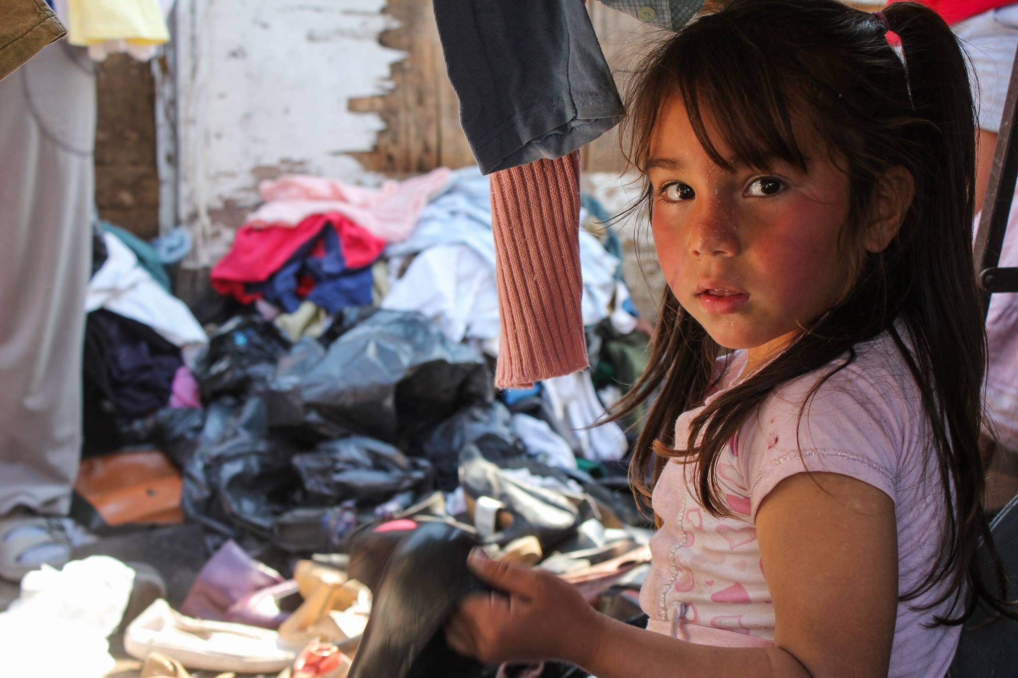 Noël dans le bidonville de Las Châcritas en Argentine