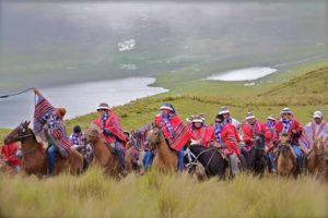 Apurimac, cavaliers au Pérou