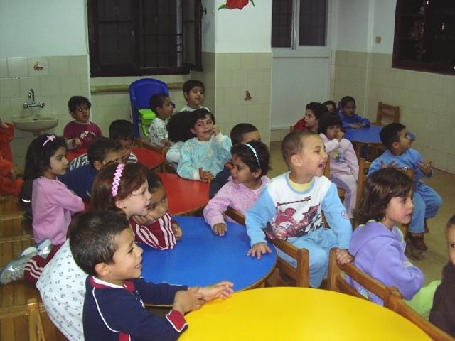 Enfants abandonnés et recueillis dans la crèche de Bethléem tenue par Les filles de la Charité