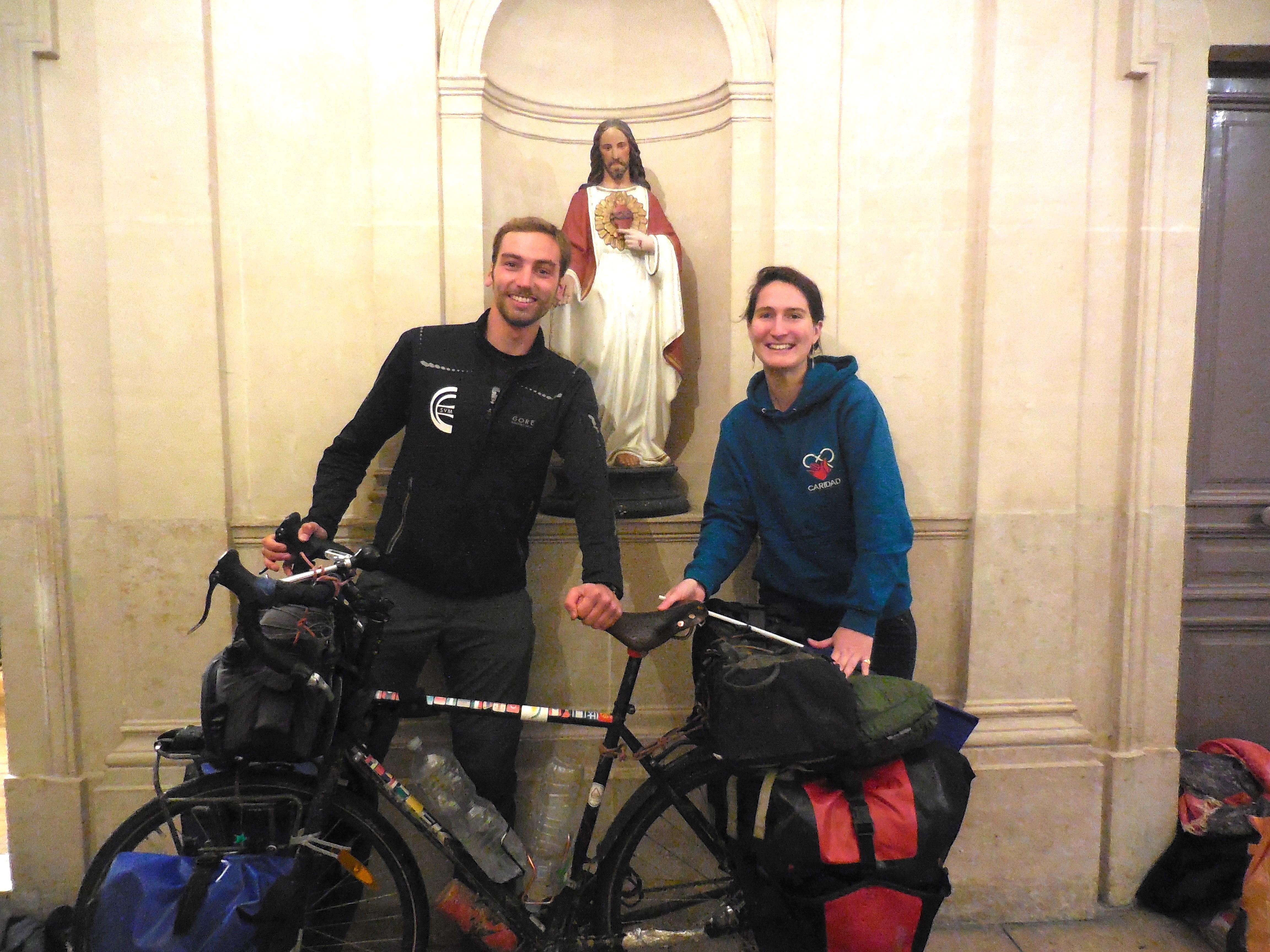 15 décembre 2017 : fin du pèlerinage de Paul Bablot, arrivée à Paris !