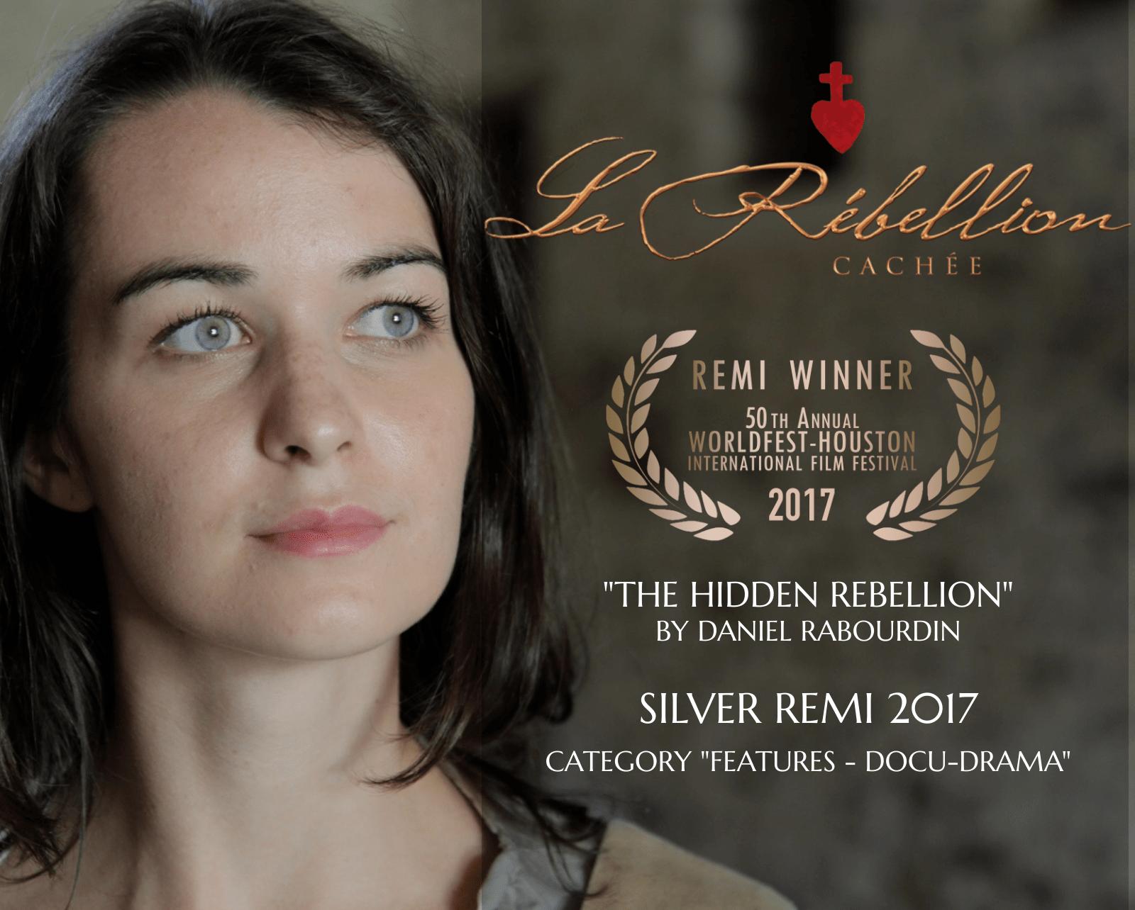Récompense Remi Award pour «La rébellion cachée»
