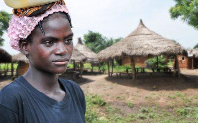 Jeune femme togolaise