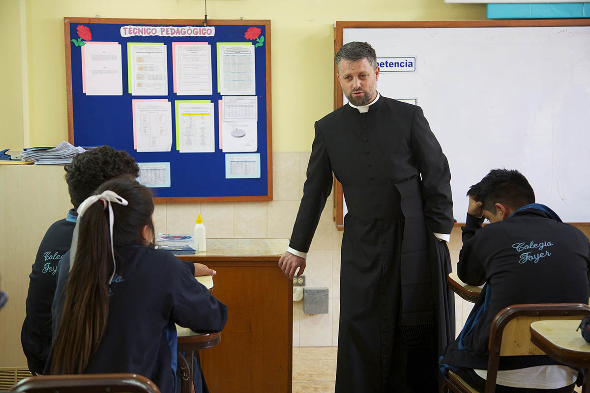 Banlieue de Lima : nouvelle mission du père Christian