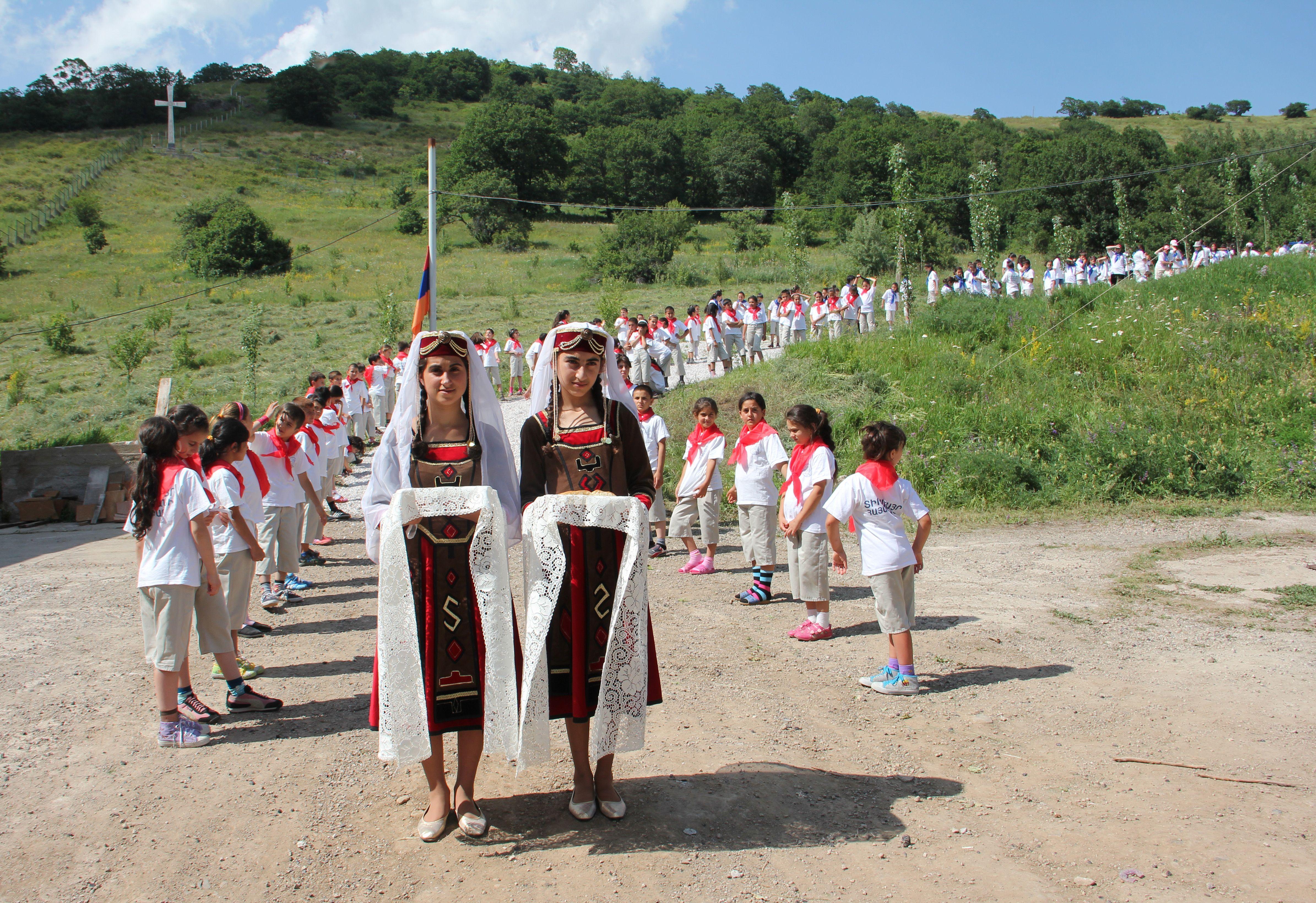 Un bol d'oxygène pour les enfants d'Arménie