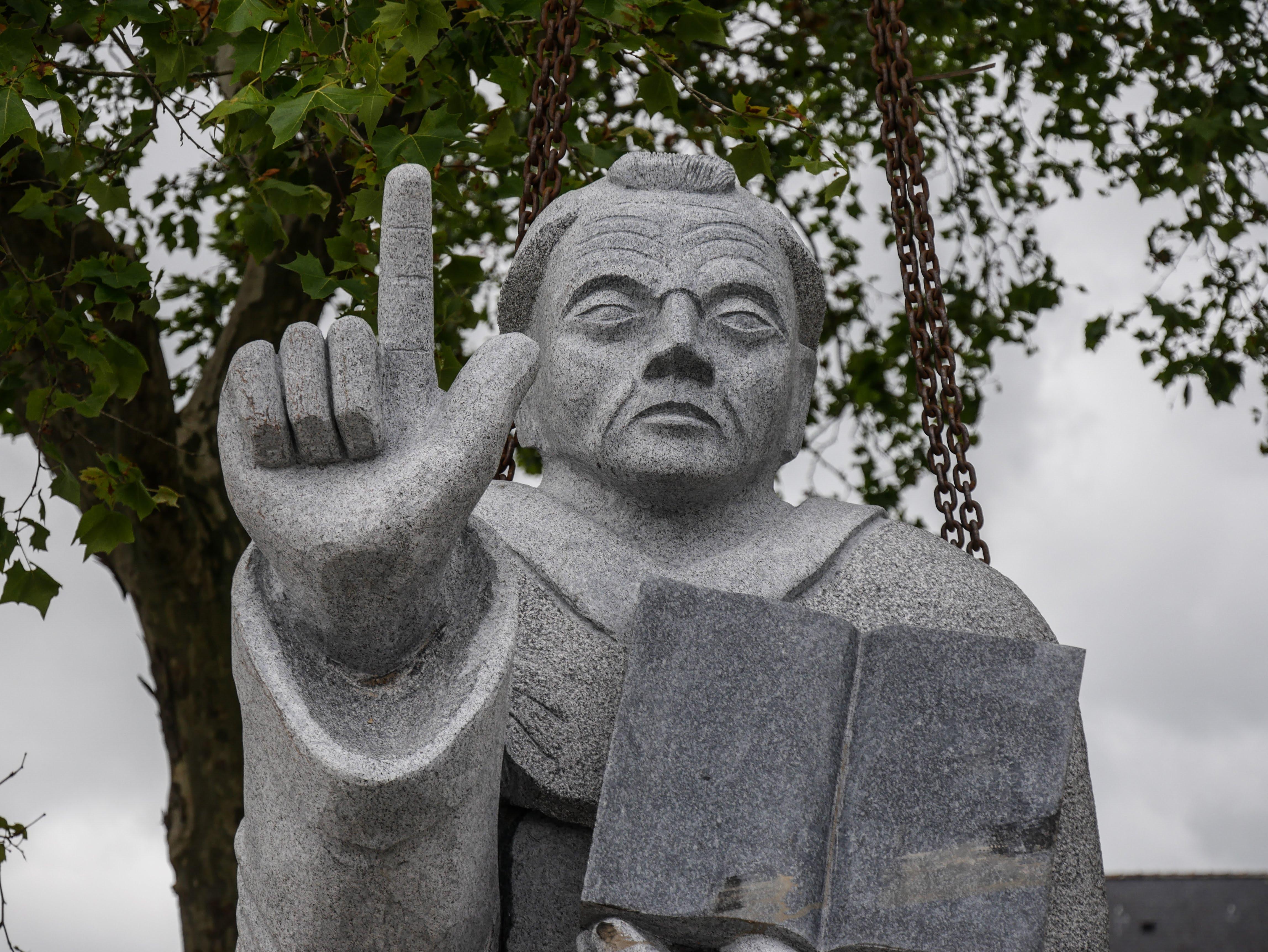 La statue de saint Vincent Ferrier est terminée !