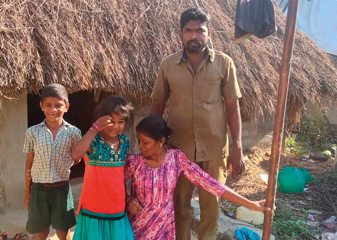 Inde : favoriser la réinsertion des lépreux