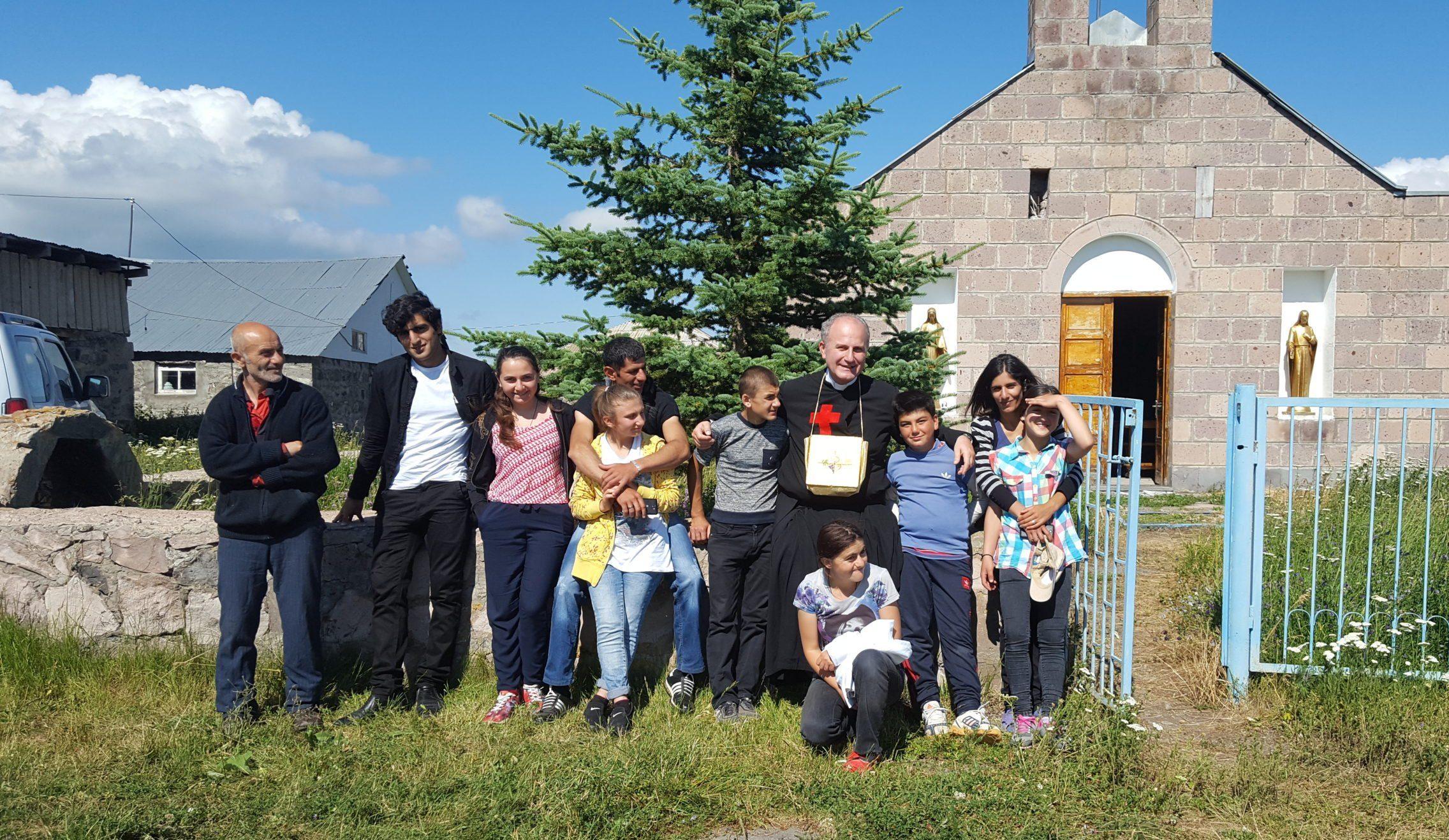 Caucase : soutien à la mission de l'abbé Chelidze