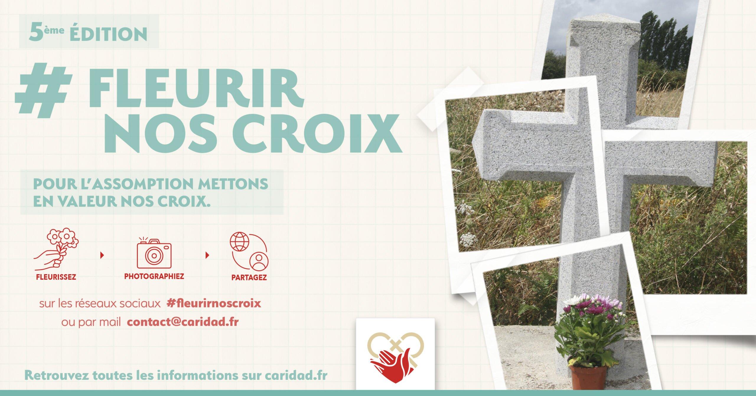 Read more about the article 15 août : Fleurir nos Croix – 5è édition
