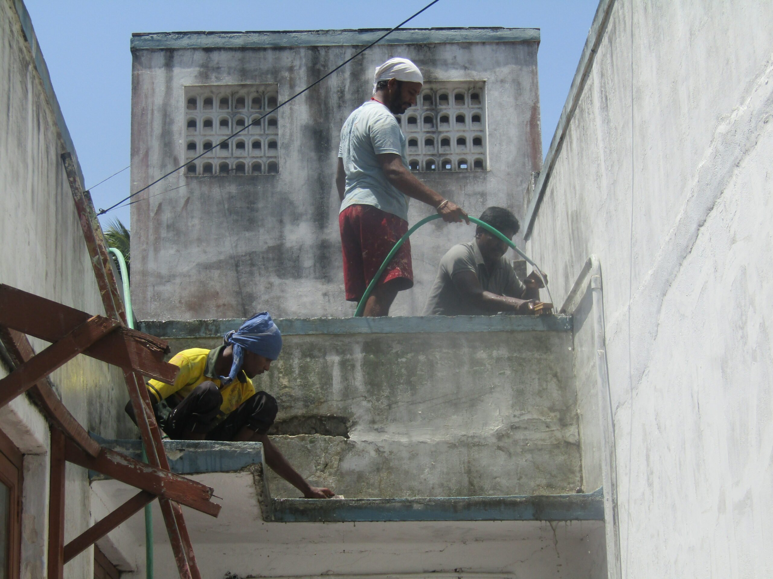 Read more about the article Inde : les travaux ont débuté à Rawthankuppam